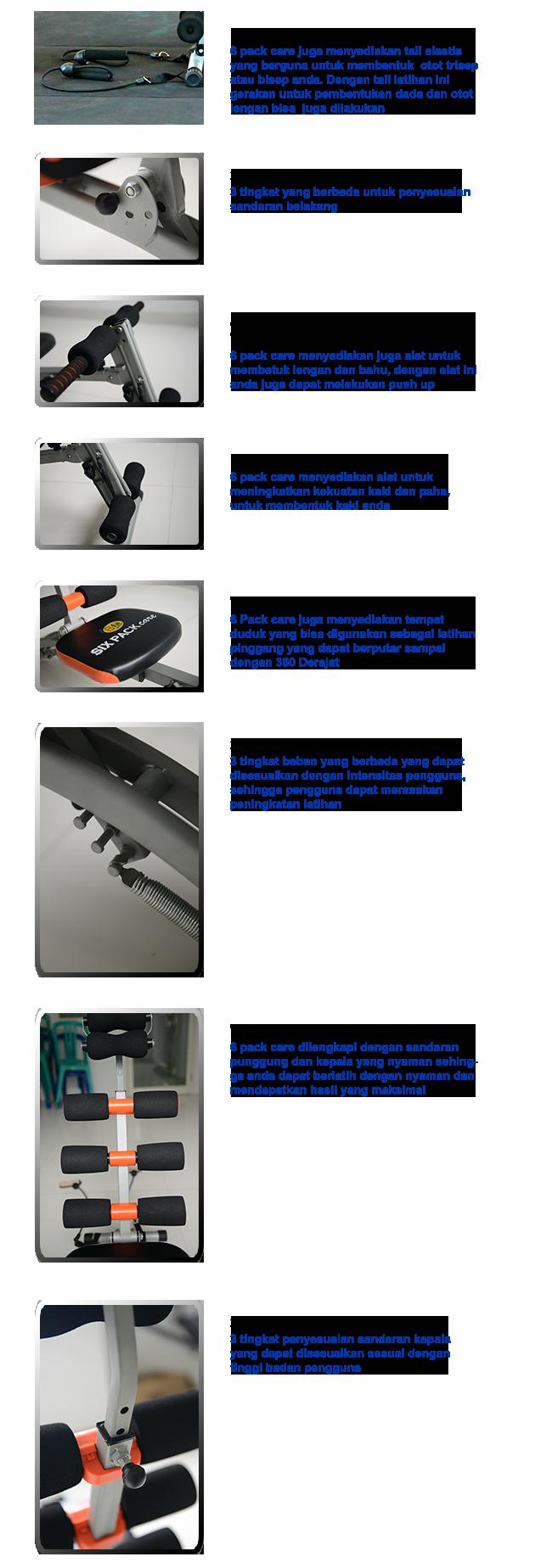 Belanja BFIT Six Pack Care 10in1 Multi Function